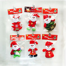 NEW Christmas Santa Claus Ornaments Xmas Tree Hanging Decoration Festival Home