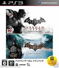 Used PS3  Batman Arkham Twin Pack SONY PLAYSTATION 3 JAPAN JAPANESE IMPORT