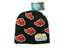 NARUTO SHIPPUDEN AKATSUKI CLOUD ICON BEANIE GE ANIMATION BRAND NEW 2316 **^*
