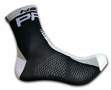 Cycling Socks NALINI PRO Black/White L/XL (EU 42-45) Made In Itay