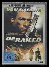 DVD DERAILED - THE EXPENDABLES SELECTION - JEAN-CLAUDE VAN DAMME *** NEU ***