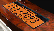 NEW YORK LICENSE PLATE DESIGN BAR RUNNER BAR MAT GREAT GIFT IDEA PUBS CLUBS