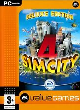 Simcity 4 Deluxe Edition with Rush Hour Expansion PC Brand New Sealed
