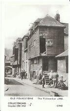 Kent Postcard - Old Folkestone - The Fishmarket c1905   U903