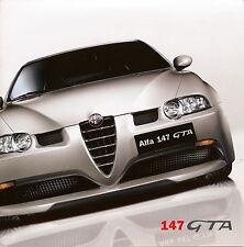 Prospetto ALFA ROMEO 147 GTA 1/03 brochure auto prospetto auto PKW Italia 2003