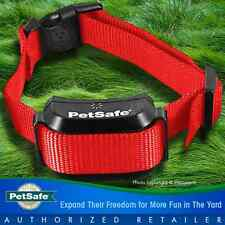 Petsafe YardMax Rechargeable Dog Fence Collar Receiver PIG00-11116 + RED STRAP