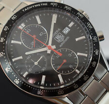 TAG HEUER  CARRERA CHRONOGRAPH CV2010   £3295   BOX/PAPERS/ 2 YR WARRANTY
