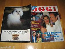 OGGI 1995/33=STEPHANIE ALBERTO DI MONACO=IVANA TRUMP=FABIO ARMILIATO LA TOSCA=