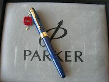 Parker Sonnet Blue Marble Fountain M