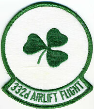 US Air Force Patch: 332nd Airlift Flight