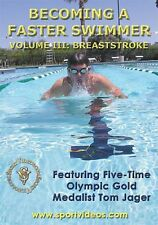 Becoming A Faster Swimmer: Breaststroke DVD