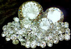 10mm 15mm 20mm 25mm 30mm 40mm 50mm white clear cubic zirconia loose stones CZ