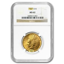 $10 Indian Gold Eagle Coin - Random Year - MS-62 NGC - SKU #23200