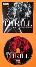 CLASSIC ROCK MAGAZINE ISSUE 191 CD, SHOOT TO THRILL (VARIOUS ARTISTS, 2013)