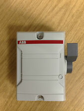 ABB BW225WDP 2pole 25amp enclosed isolator /switch disconnector