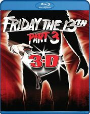 FRIDAY THE 13TH : PART 3  -  Blu Ray - Sealed Region free