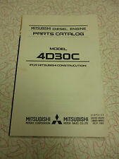 Mitsubishi 4D30C Parts manual