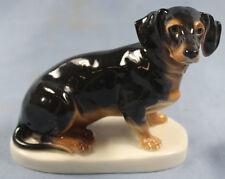 Dackel Porzellanfigur hund hundefigur Teckel porzellan figur volkstedt 1918