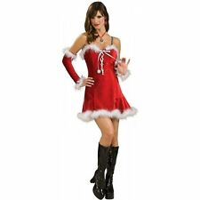 Women's Size Small Secret Wishes Santa Baby Sexy Babydoll Costume NEW Mrs. Claus