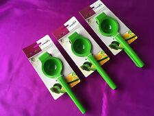 3 x Métal Massif Mexicain Coude Petit Citron & vert Agrumes Presse Jus