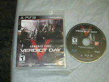 Armored Core: Verdict Day (PlayStation 3, PS3) with box