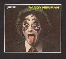 Randy Newman - vintage Joepie Sticker Card - Gene Simmons KISS Parody