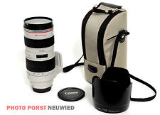 Canon Zoom Lens EF 70-200 mm 1:2 .8 l Ultrasonic-usado-buen estado!