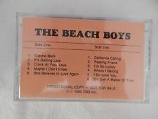 "The Beach Boys ""1985 Album"" RARE ADVANCE Cassette! BEACH BOYS COLLECTORS!! NEW!"
