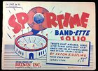 WOW 1950 Sportime Band Ette Sheet Music Booklet Marches for Football Games