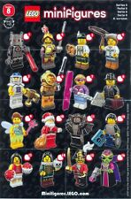 LEGO Minifigure Series 8 Complete Set (NEW)