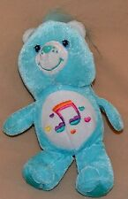 "7"" Heartsong Care Bear Carebears Plush Dolls Toys Stuffed Animals 2006 Blue RARE"