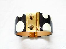 RARE LOUIS VUITTON YAYOI KUSAMA DOT BLACK BANGLE BRACELET- BRAND NEW BLACK GOLD