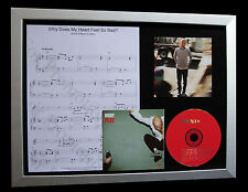 MOBY Why Does My Heart Feel Bad TOP QUALITY CD FRAMED DISPLAY+FAST GLOBAL SHIP