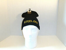 Steelers Knit Beanie Ski Hat One Size Fits Most Teens & Adults - New With Tags