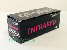 3 rolls Rollei Infrared IR400 Medium Format Film 120 black and white FREESHIP