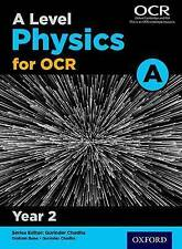 A Level Physics A for OCR Year 2 Student Book, Saunders, Nigel, Bone, Graham, Ve