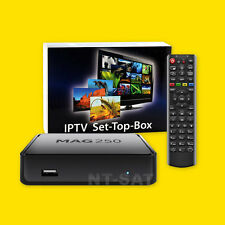 Mag 250 box multimedia player internet tv box IPTV set top USB HDMI HDTV/