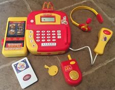 McDonald's Drive Thru Playset Cash Register Headset Walkie Talkie Scanner Menu