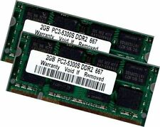 Samsung 4Gb 2x 2Gb DDR2 667 Mhz Apple MacBook Pro 2,1 2,2 Late 2006 / 2007