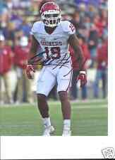 ERIC STRIKER OKLAHOMA SOONERS SIGNED 8X10 PHOTO W/COA