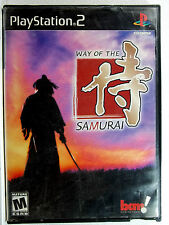 Way of the Samurai (PS2) Game & Cover Art Only - Clean,Tested & Fast Shipping