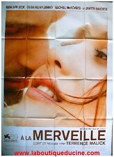 A LA MERVEILLE To The Wonder Affiche Cinéma / Movie Poster TERRENCE MALICK