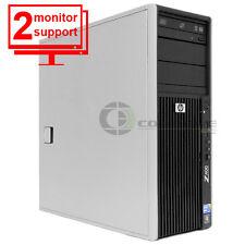 HP Z400 Workstation Xeon W3505 2.53Ghz 6GB 256GB SSD Quadro FX1800 Win 7 Pro 64