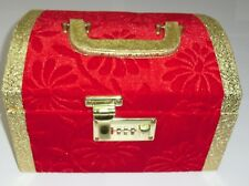 Designer Jewellery/Bangle Storage Box Vanity Wedding Make up Case with mirror