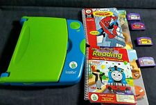 LeapPad Plus  Learning System by LeapFrog  Works Great W/ 4 Games & Books