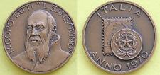 """MEDAGLIA GETTONE TOKEN - ITALIA ANNO 1970 - IACOPO TATTI """"IL SANSOVINO""""  VARISCO"""