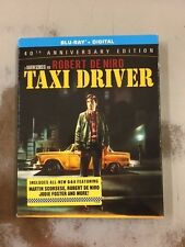 Taxi Driver (Blu-ray + Digital, 2016) 40th Anniversary Edition NEW w/ slip