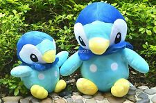 13inch Anime Pokemon Piplup Animal Blue Penguin Plush Stuffed Toy Doll