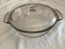 Anchor Hocking Casserole with Lid 2 Qt Ovenware