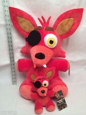"""New Authentic Five Nights At Freddy's FOXY Large 16"""" Plush FNAF USA Seller"""